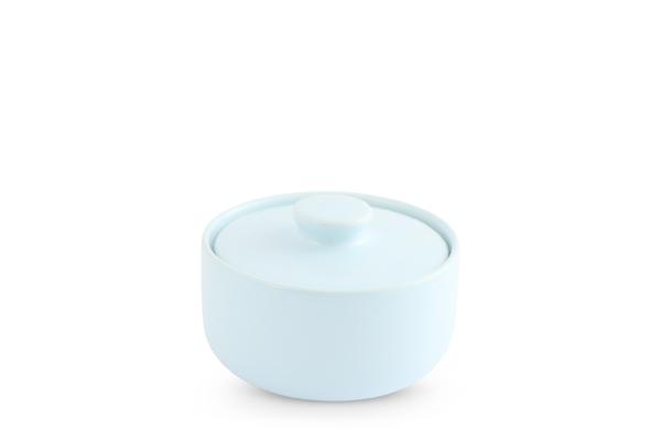 Zuckerdose Pastellblau Trendmix Friesland Porzellan