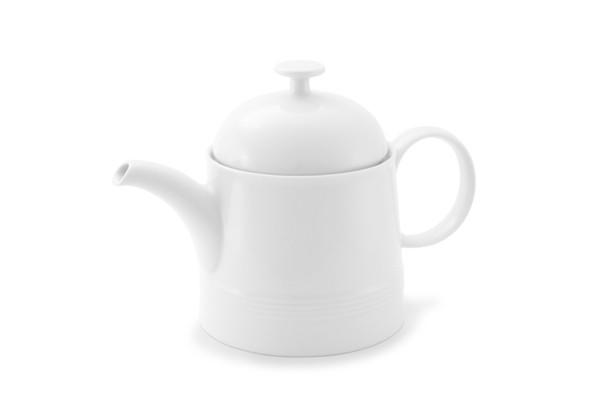 Teekanne Jeverland Weiß Friesland Porzellan