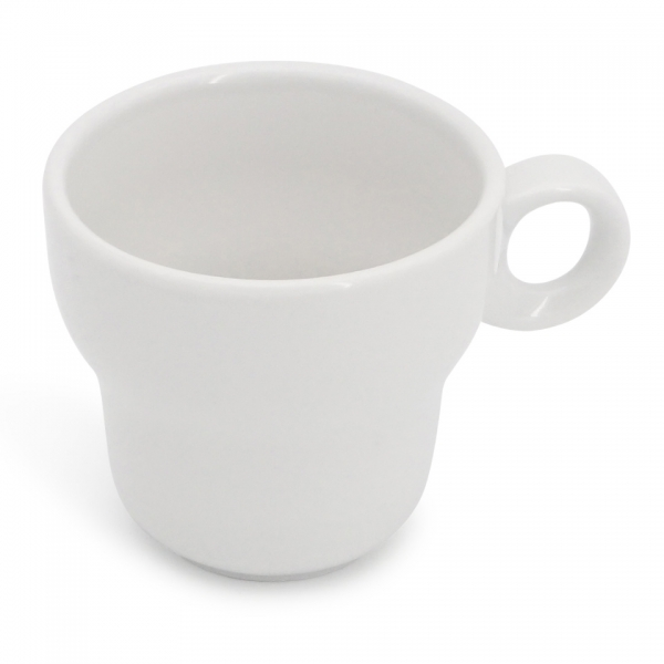 Cappuccinotasse, 0,18l Modern Classic Weiß