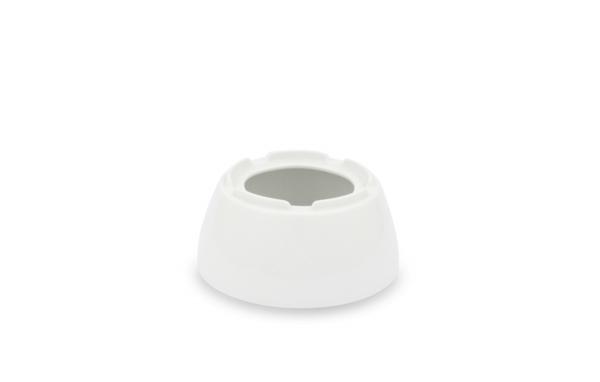 Stövchen 14,0cm Ø Horizont Weiß