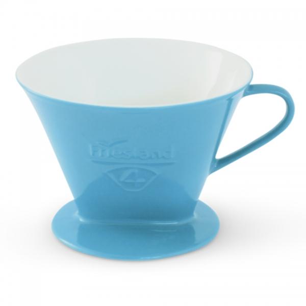 Porzellan Kaffeefilter Gr. 4 Azurblau
