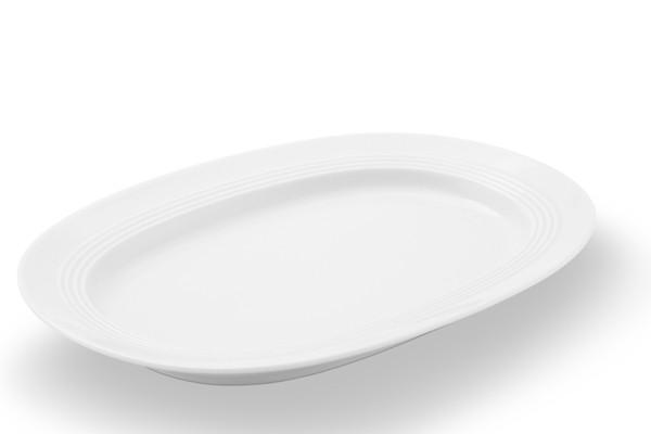 Platte Jeverland Weiß Friesland Porzellan