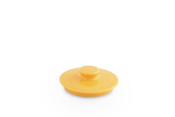Deckel für Zuckerdose 0,25l Happymix Safrangelb
