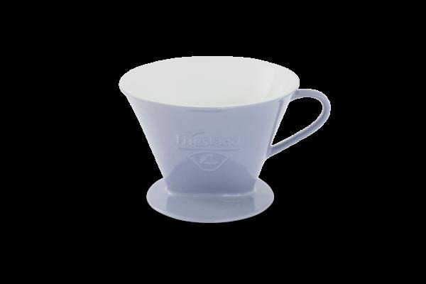 Porzellan Kaffeefilter Gr. 4 Steingrau