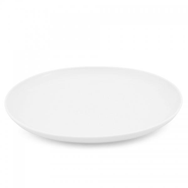 Speiseteller, oval, 31cm Alta Weiß