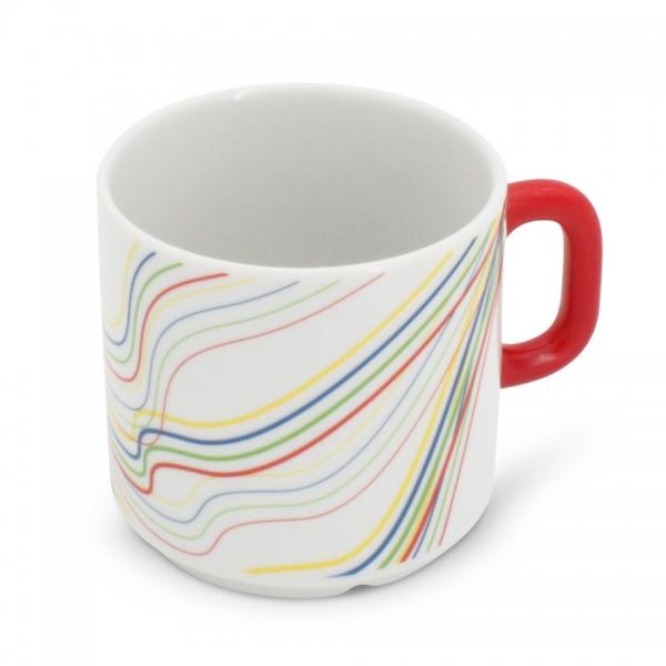 Kaffeetasse Henkel Rot 0,2l Revival Fantasia