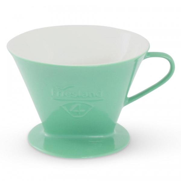 Porzellan Kaffeefilter Gr. 4 Jadegrün