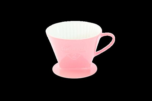 Porzellan Kaffeefilter Gr. 2 Pastellrosa