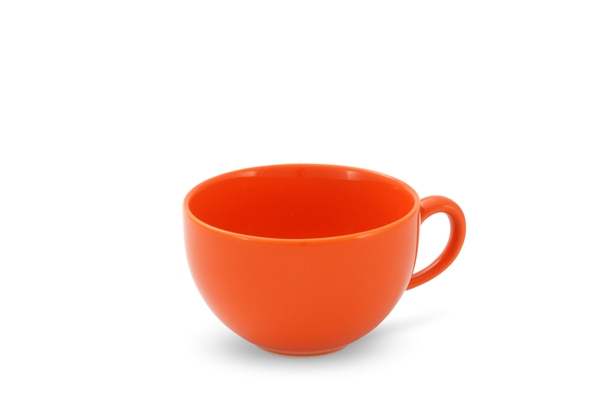 4er-Set Kaffeetassen 0,24l Happymix Orange