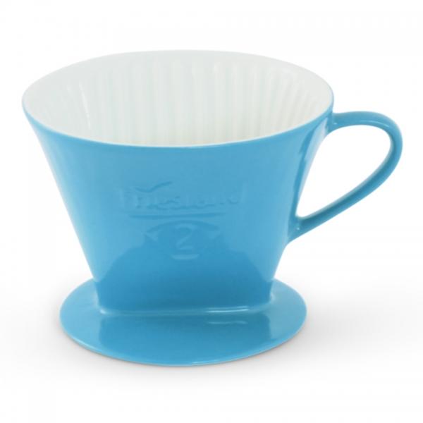 Friesland Kaffeefilter Porzellan Größe 2 Azurblau