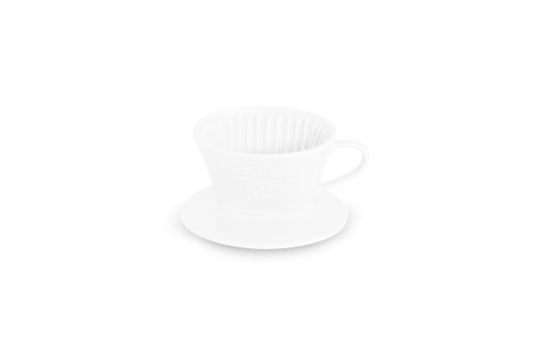Melitta Kaffeefilter Friesland Porzellan weiß 100