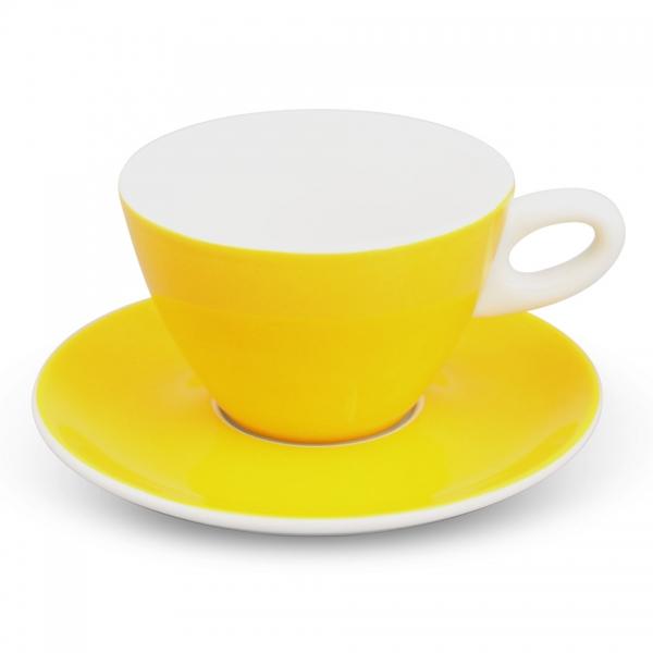 Milchkaffee-Set 2tlg. Alta Gelb