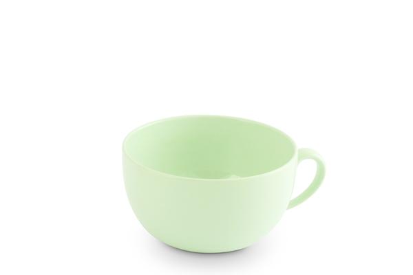 Jumbotasse für Cappuccino und Co Pastellgrün von Friesland