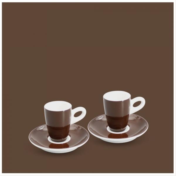 Espresso-Set 4tlg. Alta Dunkelbraun