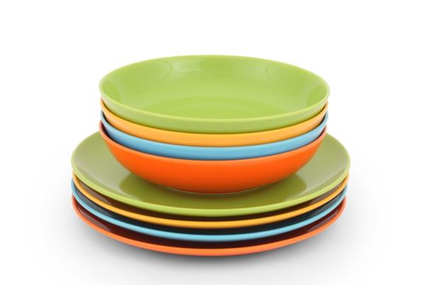 Happymix Bunt Tafel-Set Farbig glasiert von Friesland