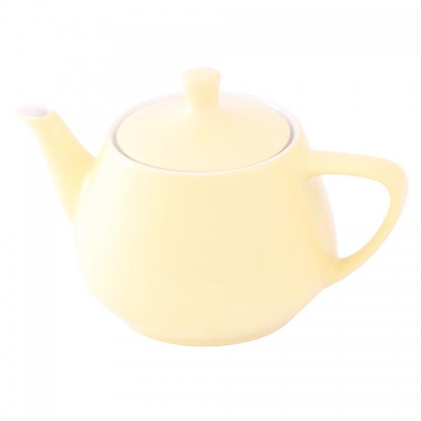 Teekanne 0,85l Pastellgelb Friesland Porzellan