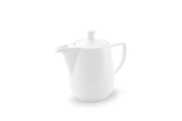 Kaffeekanne 0,6l Weiß