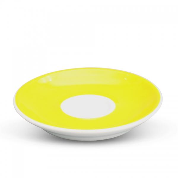 Espresso Untertasse 11,5cm Alta Gelb Spiegel Weiß