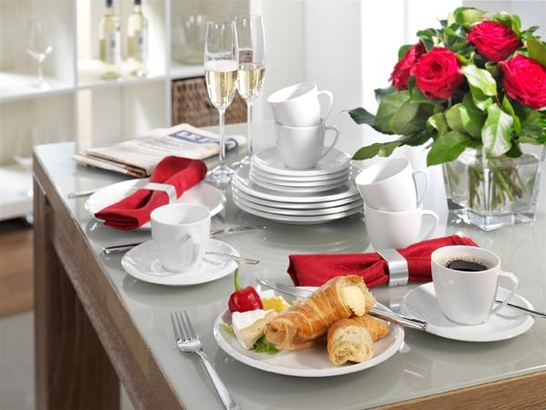 Ecco Weiß Kaffee-Service Designe Friesland