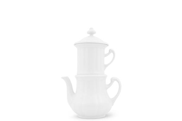 Karlsbader Kaffeemaschine 0,35l Weiß
