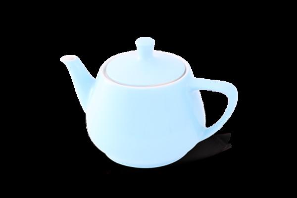 Teekanne 0,85l Haushaltskannen Pastellblau - Utah Teapot