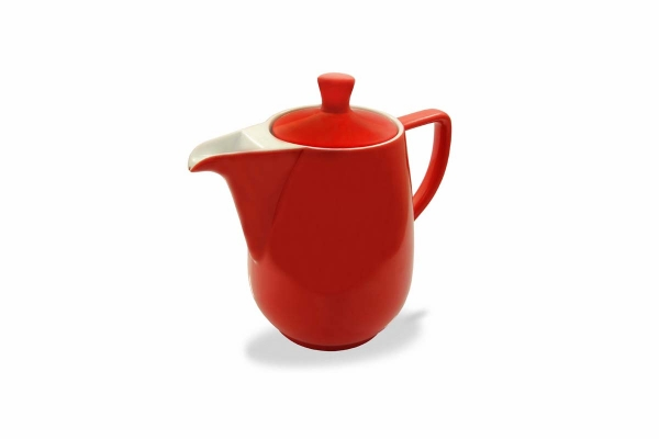 Kaffeekanne 0,35l Rot