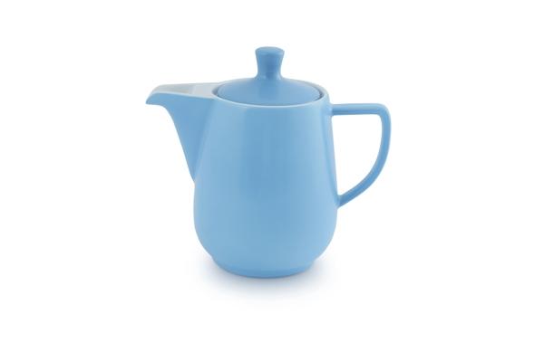 Kaffeekanne Friesland Porzellan Azurblau