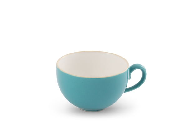 Kaffeetasse Trendmix Aquamarin/Weiß Friesland Porzellan