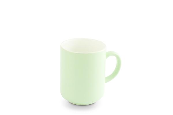 Becher Pastellgrün Weiß Trendmix Friesland Porzellan