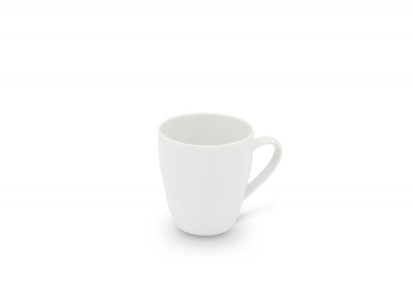 Becher mit Henkel 0,24l Horizont Weiß