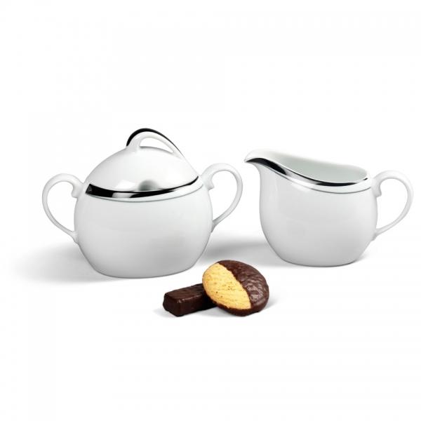 Ergänzungs-Set Kaffee 2tlg La Belle Black & White