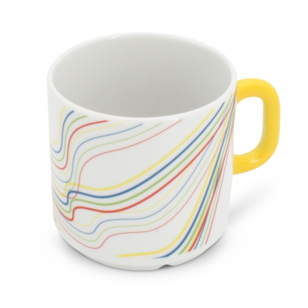 Kaffeetasse Henkel Gelb 0,2l Revival Fantasia