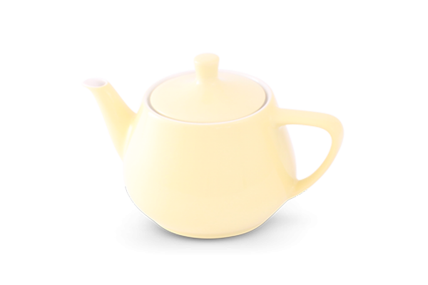 Teekanne 0,85l Haushaltskannen Pastellgelb - Utah Teapot