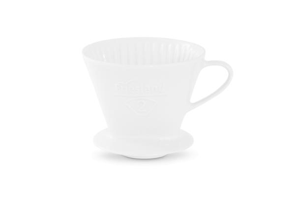 Melitta Kaffeefilter Friesland Porzellan weiß 102