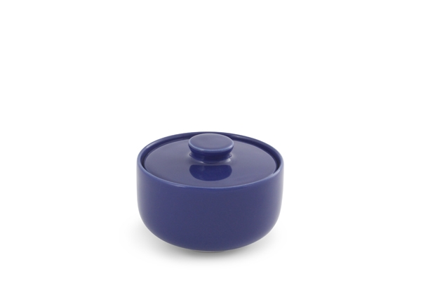 Zuckerdose Happymix Blau Friesland Porzellan
