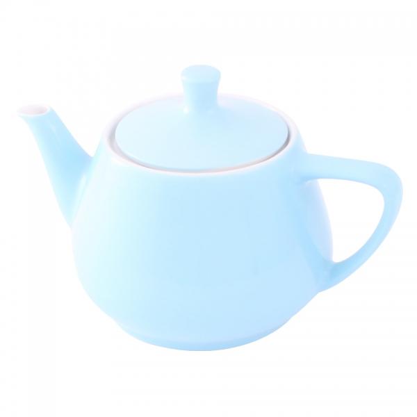 Teekanne 0,85l Pastellblau Friesland Porzellan
