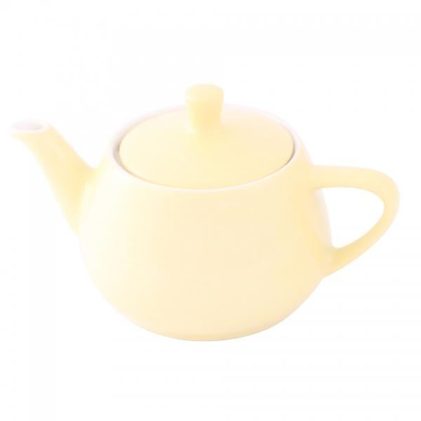 Teekanne 0,35l Pastellgelb Friesland Porzellan
