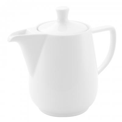 Friesland Kaffeekanne 0,6l in Weiß Porzellan
