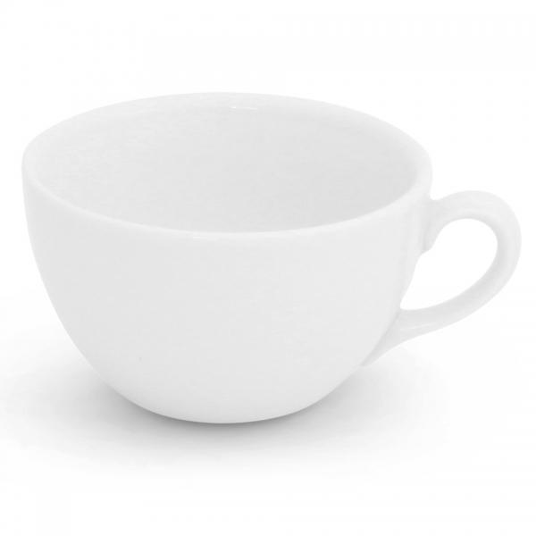 Milchkaffeetasse, 0,25l Classic Weiß