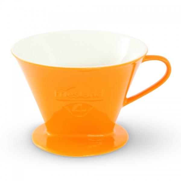 Friesland Kaffeefilter Größe 4 Porzellan Safrangelb