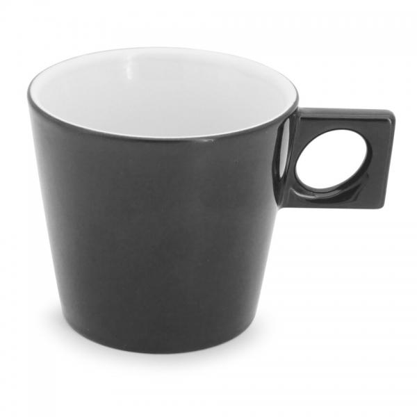 Cafe au lait Tasse, 0,35l NYNY Schwarz