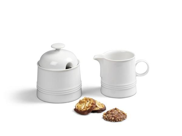 Ergänzungs-Set Kaffee 2tlg Jeverland Weiß
