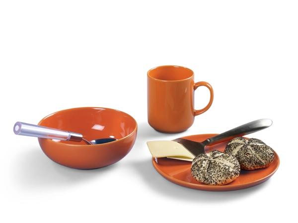 Happymix Orange Frühstücks-Set von Friesland