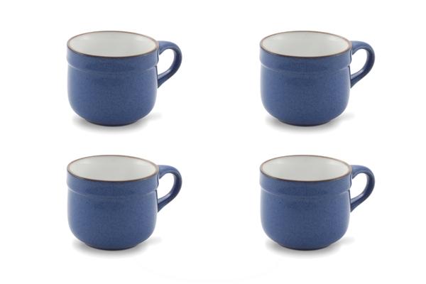 Viererset Kaffeetassen Ammerland Blue Friesland