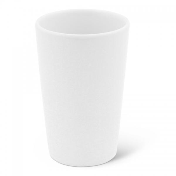 Milchbecher, 0,35l Classic Weiß