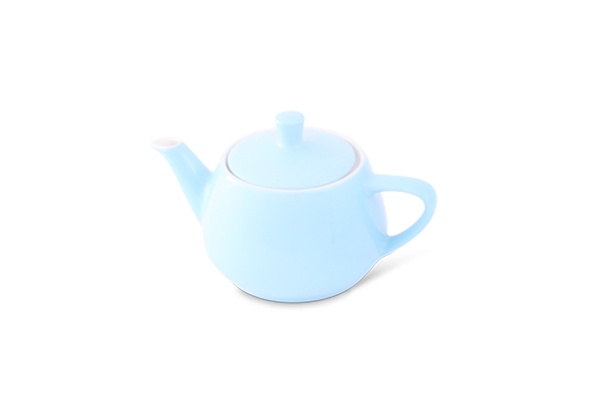 Teekanne 0,35l Haushaltskannen Pastellblau - Utah Teapot