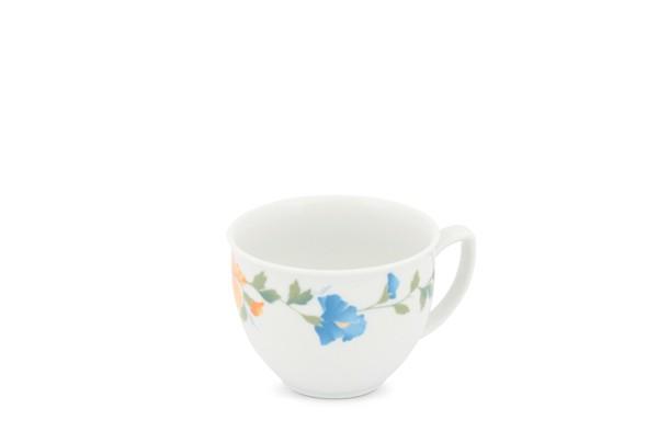Kaffeetasse Obere Blumendekor Life Clematis Friesland Porzellan
