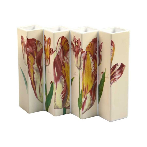 Vier Tulpen Vase 15,5cm Marrel