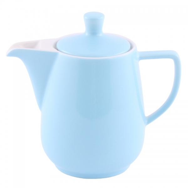 Kaffeekanne 0,6l Pastellblau Friesland Porzellan