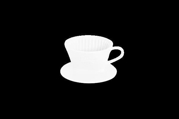 Porzellan Kaffeefilter Gr. 1 Tassenfilter Weiß